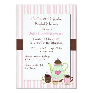 Trendy Coffee Bridal Shower Invitation starting at 2.66