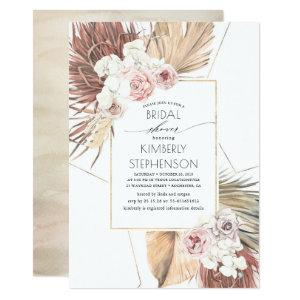 Tropical Earthy Jungle Foliage Oasis Bridal Shower Invitation starting at 2.26