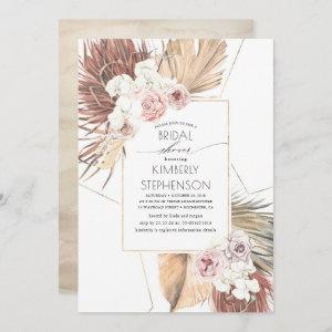 Tropical Earthy Jungle Foliage Oasis Bridal Shower Invitation starting at 2.51