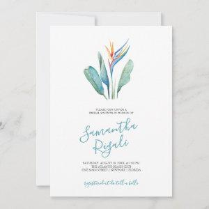 Tropical Floral Watercolor Bridal Shower starting at 2.40