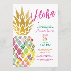 Tropical Pineapple Bridal Shower starting at 2.35