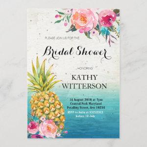 Tropical Pineapple Bridal Shower starting at 2.55