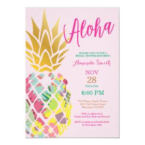 Tropical Pineapple Bridal Shower Invitation starting at 2.35