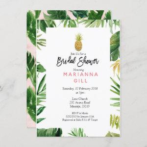 Tropical Themed Pineapple bridal shower starting at 2.20