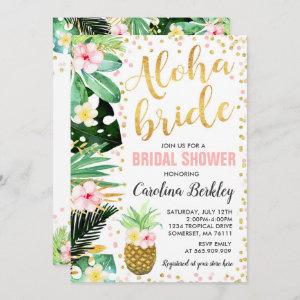 Tropical Watercolor Floral Bridal Shower Card starting at 2.56