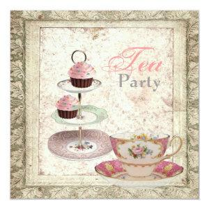 Tuscany Country Bridal Shower Tea Party Invitation starting at 2.67