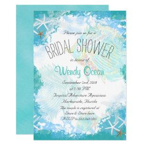 Under the Sea Bridal Shower Invitation starting at 2.45