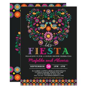 Vibrant Fiesta Couples Shower Floral Engagement Invitation starting at 2.66