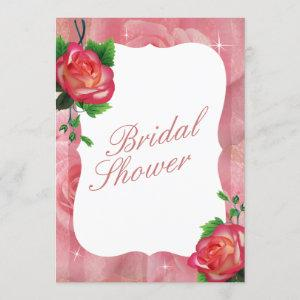 Victorian Dusty Rose Floral Wedding Invitation starting at 2.40