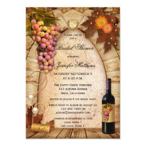 Vineyard Wine Theme Bridal Shower Invitation starting at 2.66
