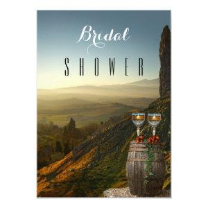 Vineyard Wine Themed Bridal Shower Invitation starting at 2.45