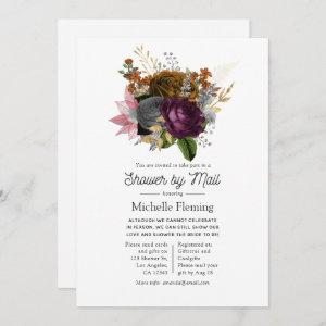 Vintage Autumn Floral Bouquet Shower by Mail Invitation starting at 2.51