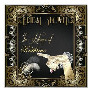 Vintage Classic Gatsby Style Bridal Shower Invitation starting at 3.60