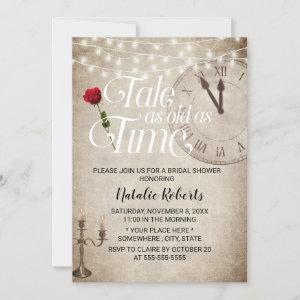 Vintage Fairy Tale as Old as Time Bridal Shower Invitation starting at 2.40