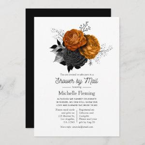 Vintage Halloween Floral Shower by Mail Invitation starting at 2.51