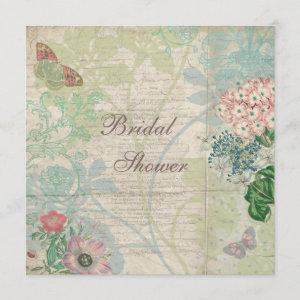 Vintage Pearls & Lace Shabby Chic Bridal Shower starting at 2.51