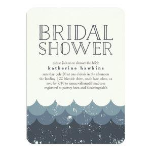 Vintage Waves Bridal Shower Invitation starting at 2.41