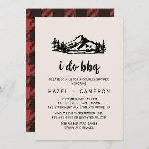 Vintage Wilderness | Buffalo Plaid I Do BBQ Invitation starting at 2.51