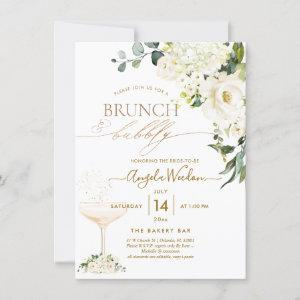 Watercolor Alabaster Roses Brunch Bubbly starting at 2.20
