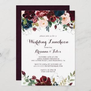 Watercolor Fall Wedding Luncheon Bridal Shower Invitation starting at 2.51