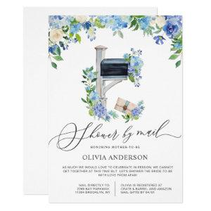 Watercolor Hydrangea Virtual Baby Shower by Mail Invitation starting at 2.35