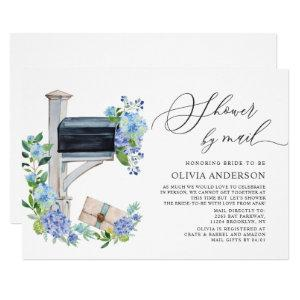 Watercolor Hydrangea Virtual Bridal Shower by Mail Invitation starting at 2.35