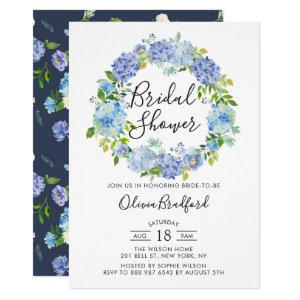 Watercolor Hydrangeas Bridal Shower Invitation starting at 2.40