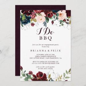 Watercolor Illustrated I Do BBQ Engagement Party Invitation starting at 2.51