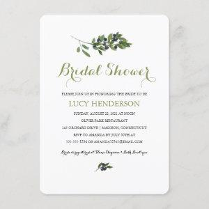 Watercolor Olive Orchard | Bridal Shower Invitation starting at 2.40
