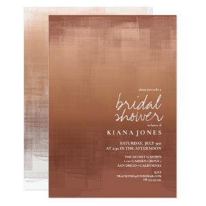 Watercolor Reflection Bridal Shower Clay ID774 Invitation starting at 2.21