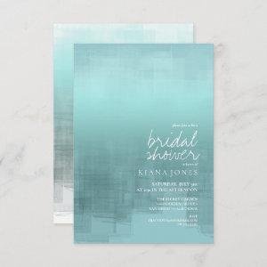 Watercolor Reflection Bridal Shower Teal ID774 starting at 2.21