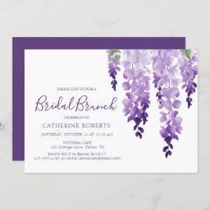 Watercolor Wisteria | Bridal Brunch starting at 2.40