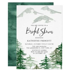 Watercolor Woodland Bridal Shower Invitation starting at 2.40