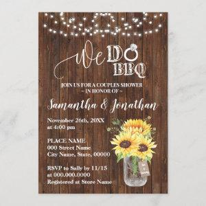 We do bbq couple shower sunflowers country wedding starting at 2.55