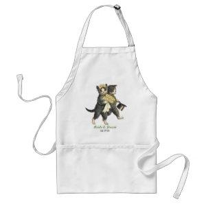 Wedding Cats Adult Apron starting at 22.30