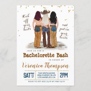 Western Cowgirl Bachelorette Bridal Shower Invitation starting at 2.50