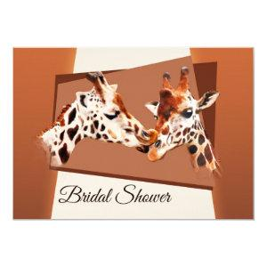 Whimsical Giraffe Bridal Shower Invitation starting at 2.55