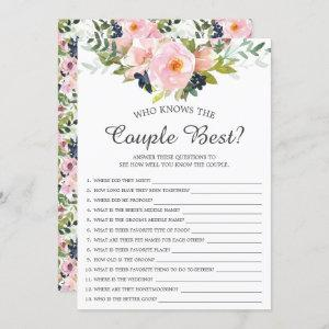 Who Knows the Couple Best Game Bridal Shower starting at 2.40