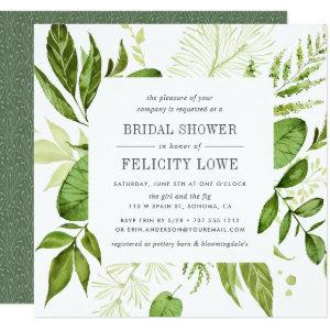 Wild Meadow Bridal Shower Invitation | Square starting at 2.41