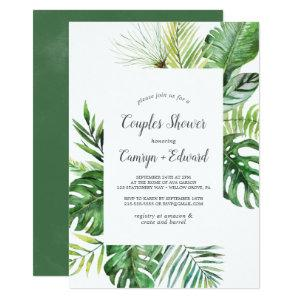 Wild Tropical Palm Couples Shower Invitation starting at 2.51