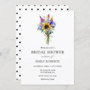 Wildflower Bridal Shower invitation starting at 2.50
