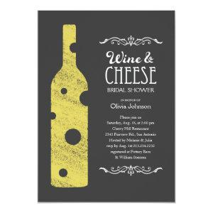 Wine and Cheese Bridal Shower Invitations starting at 2.82