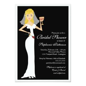 Wine Theme Bridal Shower Celebration Invitation starting at 2.56