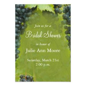 Wine Vineyard Theme Bridal Shower Invitation starting at 2.77