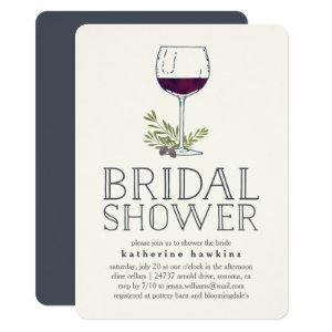 Winery or Wine Tasting Bridal Shower Invitation starting at 2.41