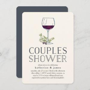 Winery or Wine Tasting Couples Shower Invitation starting at 2.41