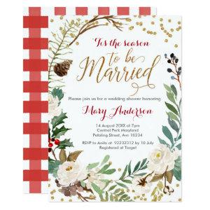 Winter Wedding, Tis the season to be married Invitation starting at 2.66