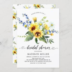 Yellow Sunflower Bridal Shower Invitation starting at 2.40