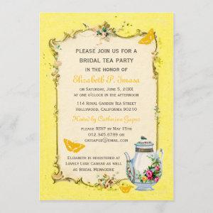 Yellow Vintage French Bridal Tea Party starting at 2.51